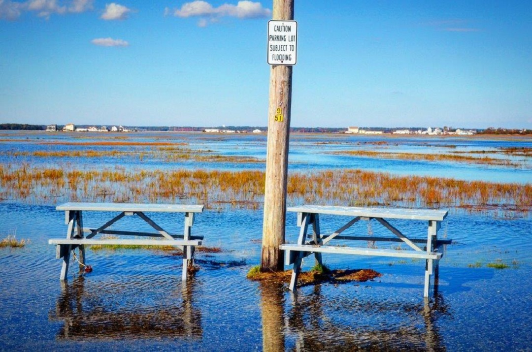 King Tide in Seabrook, NH