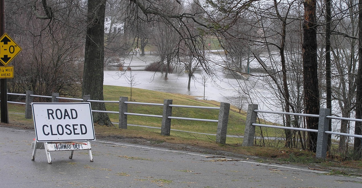 Flooding in 2007 in Exeter NH