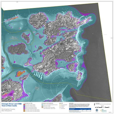 Map example from NH Coastal Risk Map Project (FEMA, NH GRANIT)