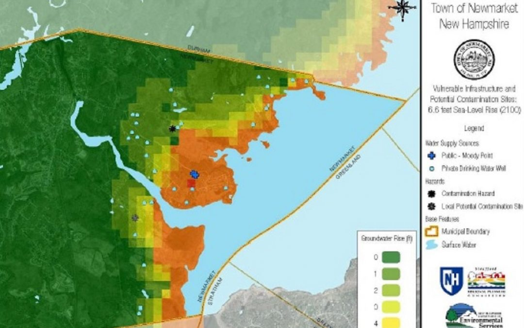 Groundwater rise modeling to understand saltwater intrusion and drinking water impacts in Newmarket