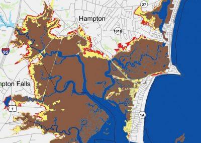 Resilient NH Coasts: Sea Level Affecting Marshes Model and Data Development