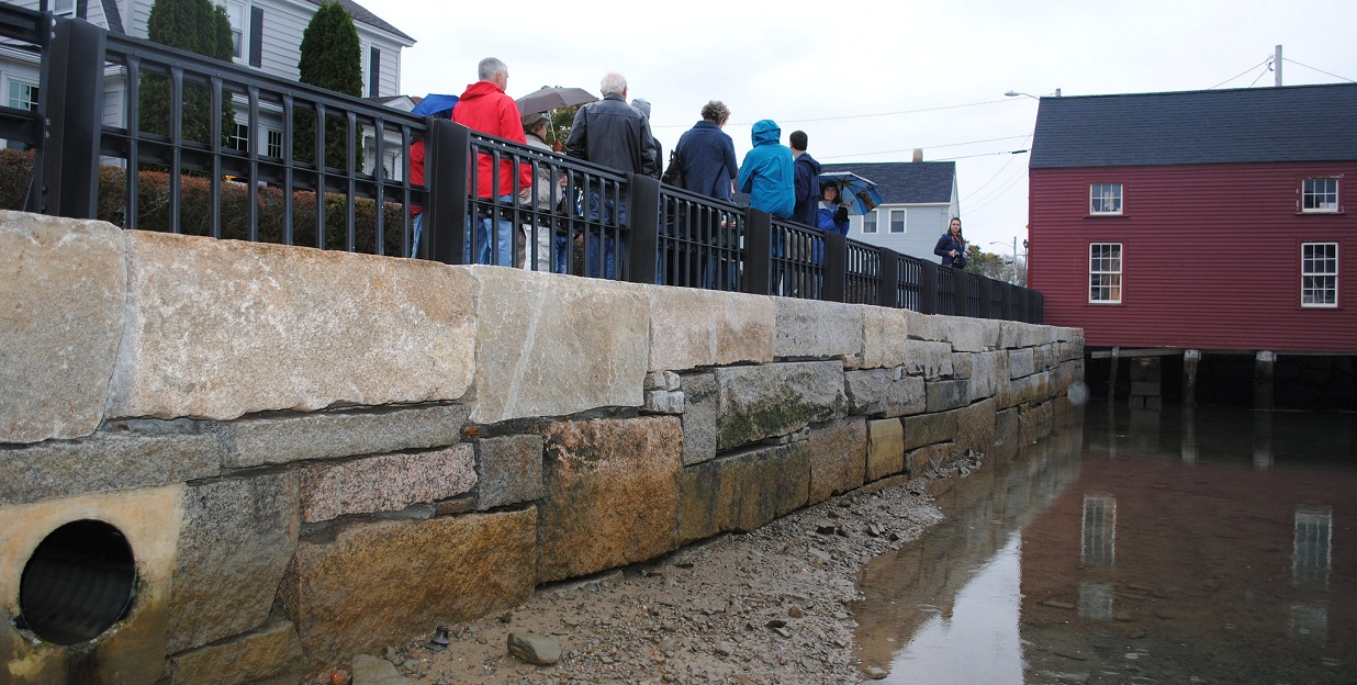 walking tour to discuss Portsmouth, NH vulnerability to sea-level rise