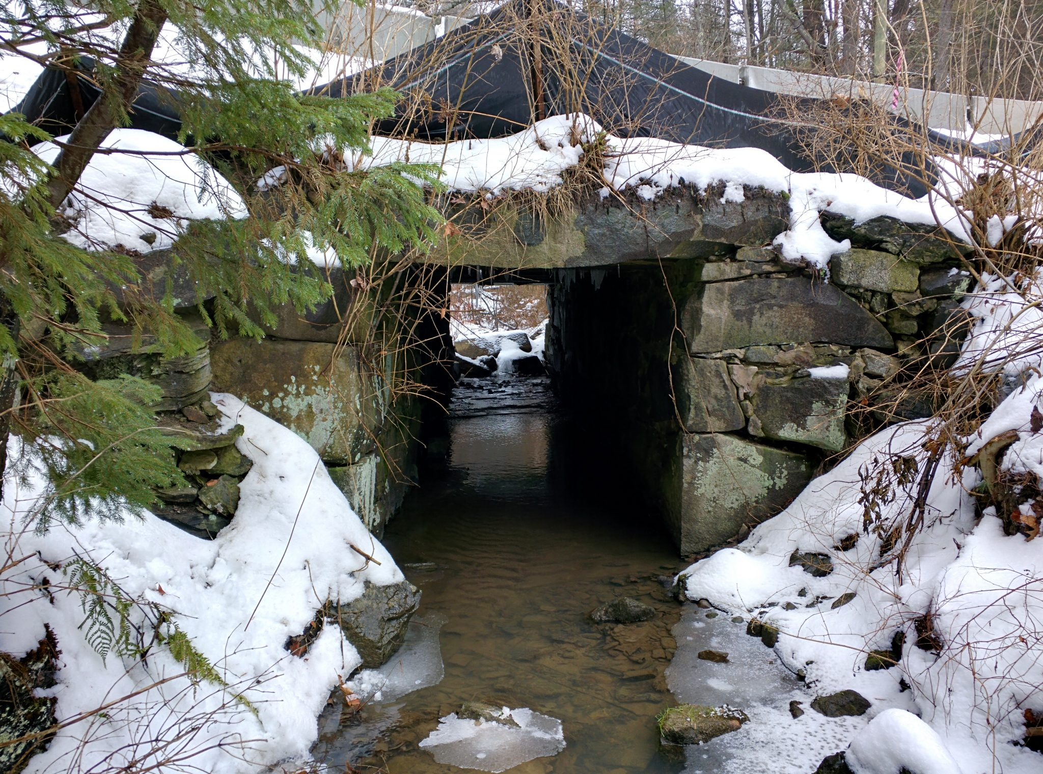 Sligo Road culvert in Rollinsford, NH