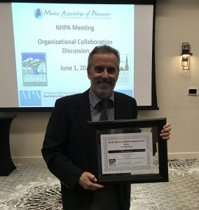 Dover accepts NHPA plan of the year award, 2018
