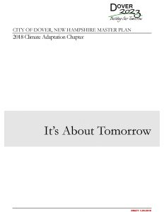 Dover master plan chapter cover
