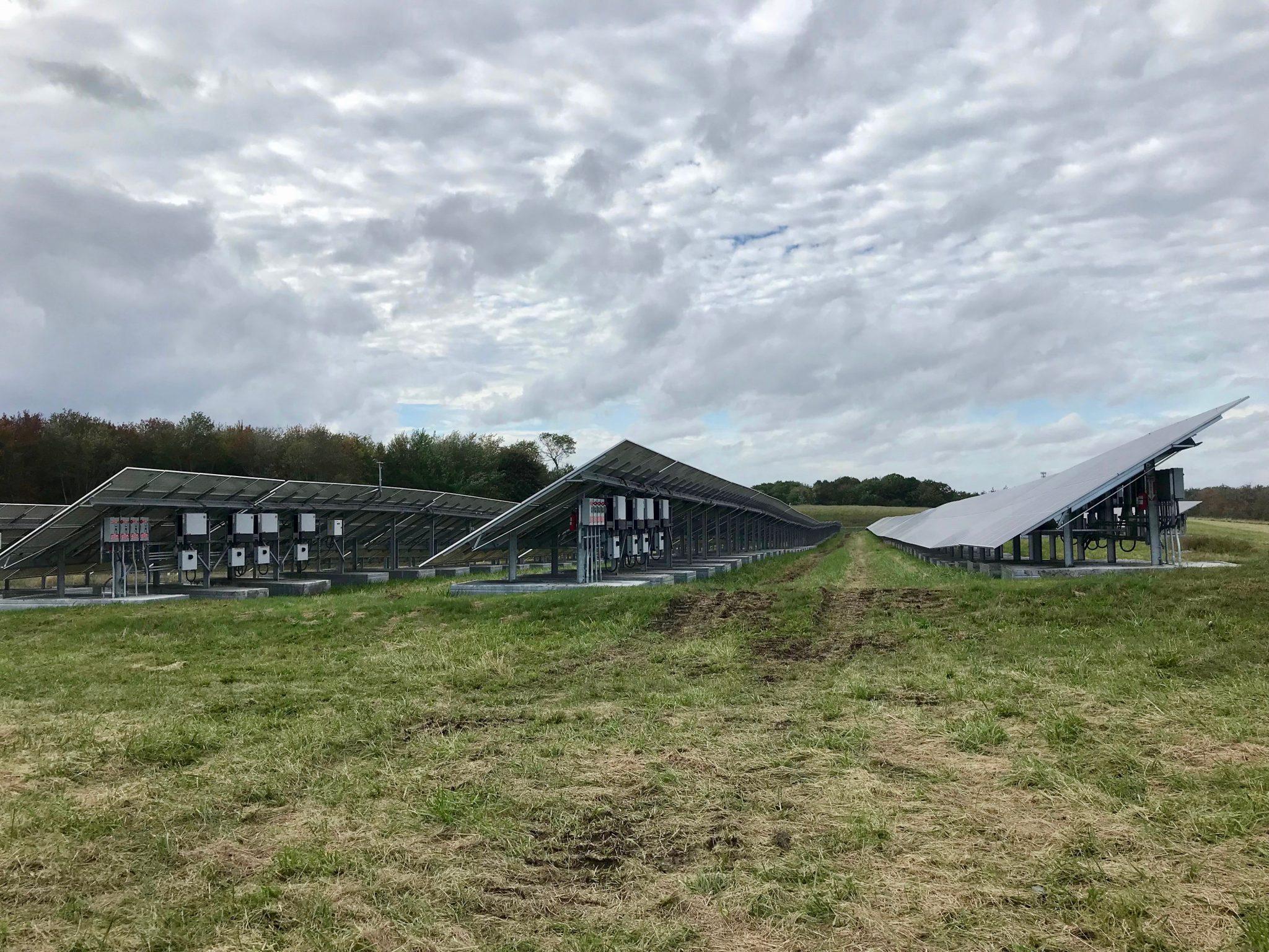 South Portland's solar array