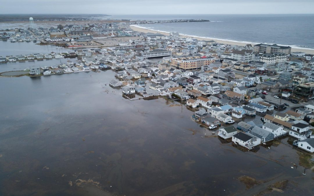 Photo of Hampton Beach, NH taken during November 2017 King Tide Event by Will Brown