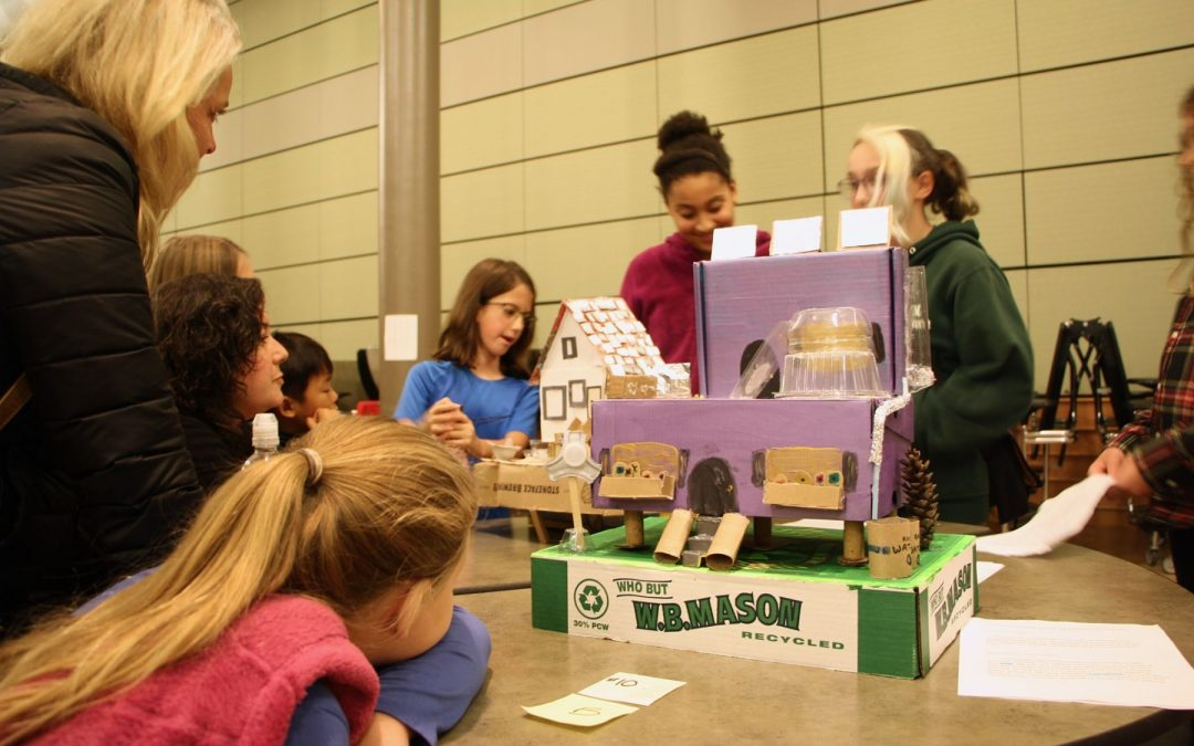 Portsmouth 6th-Graders Design Resilient & Sustainable Buildings