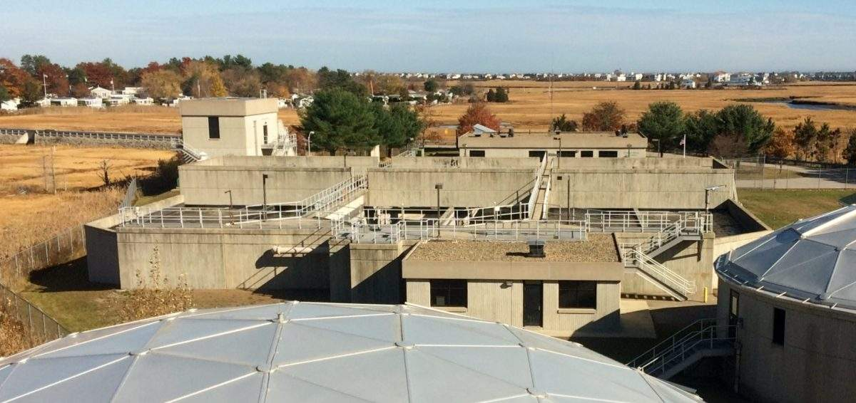 Seabrook waste water treatment facility