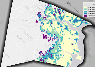 Durham Groundwater Rise Mapping Project